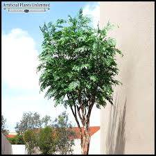 artificial trees silk outdoor faux shrubs and