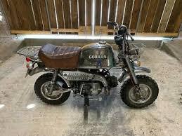 honda honda z50j gorilla monkey bike
