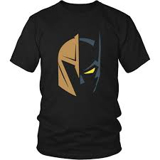 Vegas golden knights logo and batman the dark knight rises T-Shirt ...
