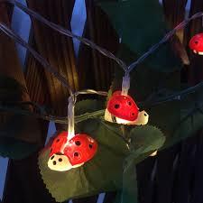 Ladybug Garden Lights Husuyuhu Led Solar Powered Lamps Energy Saving Outdoor