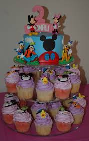 Mickey Mouse Cupcake Cake Pattern Clubhouse Birthday Ideas Shaped