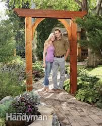 Small Picture Build a Garden Arch Garden arches Gardens and Arbors