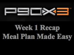 week 1 p90x3 review meal plan made easy