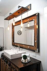 unique bathroom lighting ideas. Log Cabin Lighting Ideas Unique Rustic Bathroom Lights Light Fixtures Wall Sconce Best . P