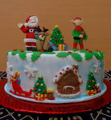 Christmas cakes pictures ...
