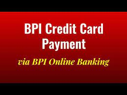 bpi credit card payment via bpi