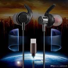 Satın Al Xiaomi Için Not 3 Mix 2 Nubia Z17 Moto Z Hifi Tipi C Için Mic Ile  Kulak Içi Kulaklık Kulaklık Ses Seviyesi Kontrol Kablolu Kulakiçi Iptal  Gürültü, TL33.76