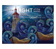 Light Of The World Verse Niv Gods Light Fairhope Notes