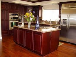 Granite Kitchen Floor Kitchen Kitchen Floors With Cherry Cabinets What Color Wood