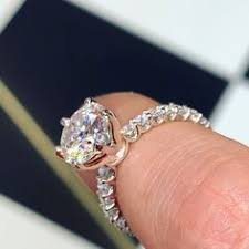 <b>6 Prong</b> Solitaire <b>Setting</b> with Tulip Head. Classic Solitaire ...