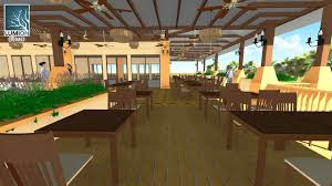Small Picture LUMION SKETCHUP GARDEN RESTAURANT YouTube