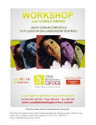 De acordo com a família. Workshop Com Camila Amado Em Dezembro