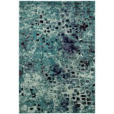 monaco light blue multi 7 ft x 9 ft area rug