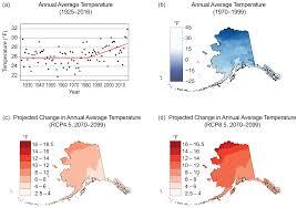 Alaska Annual Weather Chart Alaska Fourth National Climate Assessment