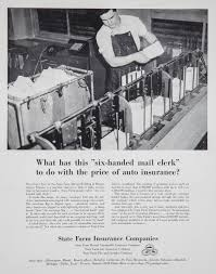 advertisement six handed mail clerk 1952