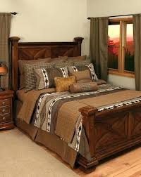 log home bedding sets rustic cabin comforter bedrooms design