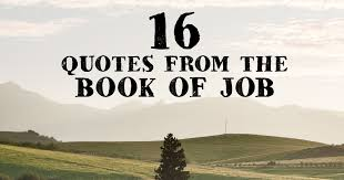 Book Of Quotes Classy 48 Quotes From The Book Of Job Famous Bible Scriptures