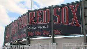 Red Sox 2018 Championship Banners Added At Jetblue Park