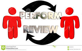 employee evaluation feedback perform review employee evaluation feedback stock illustration