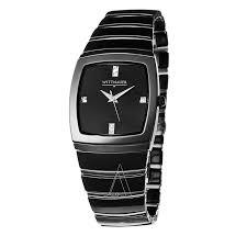 wittnauer ceramic 12d03 men s watch watches wittnauer men s ceramic watch