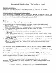 Example Of An Essay Outline Template Business