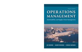 operations management sustainability and supply chain management operations management sustainability and supply chain management 12th edition 2016 jay heizer studocu