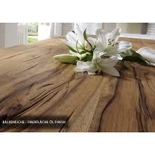 Esstisch Eiche Tischplatte Tisch Massiv Eiche Industriedesign