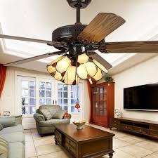 110v 220v 48inch Luxury Modern Chandelier Ceiling Fans With