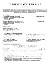 Resume Templates Nursing Inspiration Resume Of A Nurse Resume Example For Nurses Dialysis Nurse Resume