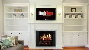 electric fireplaces that match a white
