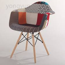 cloth chairs furniture. adult chair casual plastic dining cloth art eat wood leg armchair creative furniture chairs