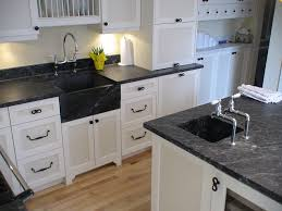 image of soapstone kitchen countertops