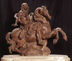 best bernini images bernini sculpture sculpture  equestrian statue of king louis xiv by gian lorenzo bernini