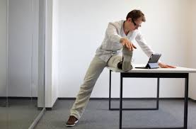 15 simple exercises you can do at your desk