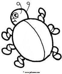 Kleurplaat Lieveheersbeestje Zonder Stippen Afbeeldingsresultaat