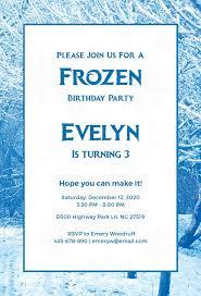 invitation party templates 9 frozen party invitation templates free editable psd ai vector