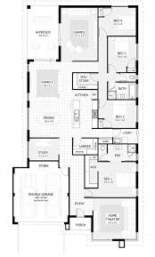 Interesting 4 Bedroom House Plans U0026 Home Designs | Celebration Homes House  Floor Plan Design