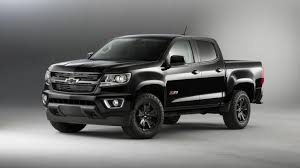 Colorado black chevy colorado : Chevy Silverado, Colorado Midnight Edition return for 2016MY [video]