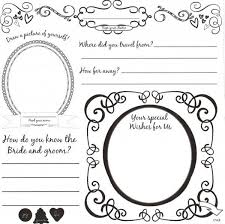 guest book template free diy wedding guestbook templates this is the front of our