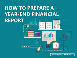 finance report templates powerpoint template how to prepare a yearend financial report at