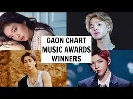 Gaon Chart Music Awards 2019 Winners