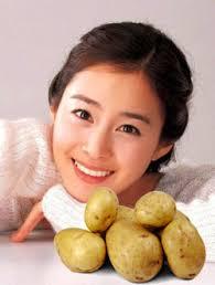 Image result for manfaat kentang untuk wajah