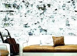 interior brick wall ideas painted old