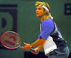 Image result for andre agassi hair piece blowing