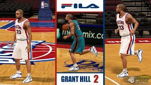 fila basketball shoes grant hill. nba 2k11 / shoes fila grant hill 2 - fila basketball