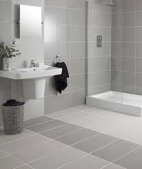 white tile bathroom floor.  Floor Regal Intended White Tile Bathroom Floor L