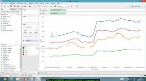 Line Charts In Tableau