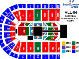 Rollins Center Seating Chart Seating Chart Ticket Prices Released For All In Cageside