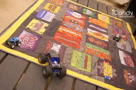 Monster Truck Quilt - iCandy handmade & This isn't just a regular old bed quilt…this is a play quilt. He can lay it  out, and match the trucks to the logos, or whatever he wants (or at least  that's ... Adamdwight.com