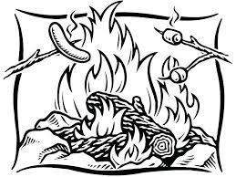 Collection Of Camping Coloring Pages For Kids Download Them And Free